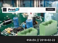 Miniaturka printor.pl (Montaż powierzchniowy SMT)