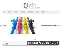 Miniaturka domeny www.printssolutions.pl