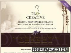 Miniaturka domeny www.pro-creative.pl