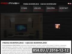 Miniaturka domeny pro-finish.pl
