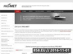 Miniaturka domeny pro-met.com.pl