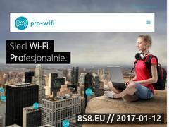 Miniaturka domeny www.pro-wifi.pl