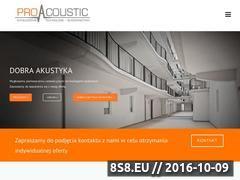 Miniaturka domeny proacoustic.com.pl