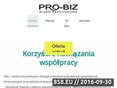 Miniaturka Księgowość, biznesplany, dotacje i ubezpieczenia (probiz.net.pl)