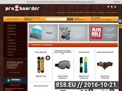 Miniaturka domeny proboarder.pl