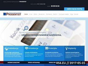 Zrzut strony Dentysta bielsko