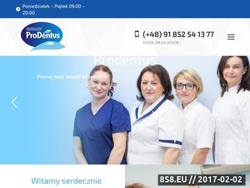 Zrzut strony Dentysta Szczecin