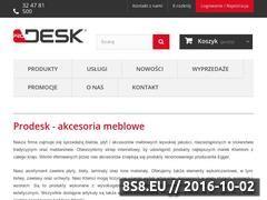 Miniaturka domeny www.prodesk.com.pl