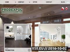 Miniaturka Oferta desek tarasowych i podłogowych (www.prodexpol.pl)