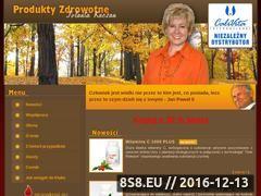Miniaturka domeny www.produkty-zdrowotne.pl