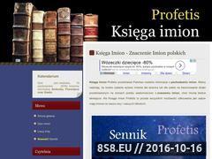 Miniaturka domeny profetis.pl