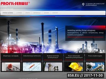 Zrzut strony Profil Serwis Strona Główna
