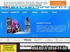 Miniaturka domeny www.profil-solar.pl