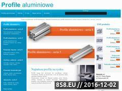 Miniaturka domeny www.profile-aluminiowe.com.pl
