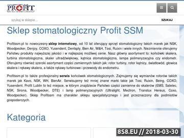 Zrzut strony Www.profitssm.pl- Stetoskop Lublin