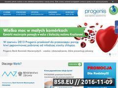 Miniaturka domeny www.progenis.pl