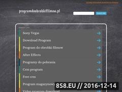 Miniaturka domeny programdoobrobkifilmow.pl