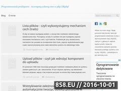 Miniaturka programowaniepraktyczne.pl (Nauka praktycznego programowania PHP + MySQL)