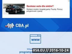 Miniaturka domeny programpartnerski1.cba.pl