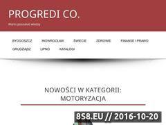 Miniaturka domeny progredi.pl