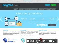 Miniaturka www.progreso.pl (Tanie domeny i stabilny hosting)