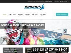 Miniaturka domeny www.progressszkola.pl