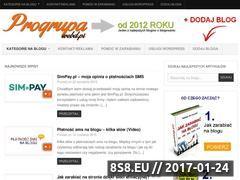 Miniaturka domeny progrupa.webd.pl