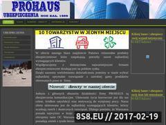 Miniaturka domeny www.prohaus.waw.pl