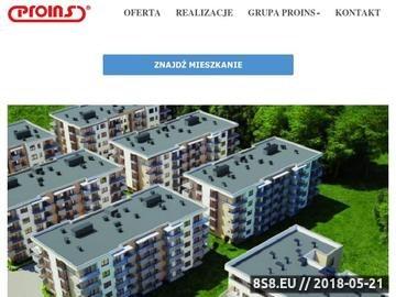 Zrzut strony Nowe mieszkania Kraków