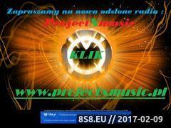 Miniaturka domeny projectxmusic.cba.pl
