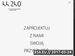 Miniaturka projekt44240.pl (Architekt projekt 44 240)