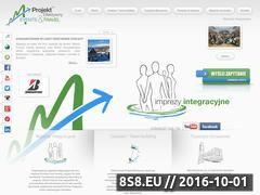 Miniaturka www.projektefektywny.pl (Wyjazdy integracyjne, gry i zabawy team building)