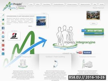 Zrzut strony Organizacja imprez dla firm, imprezy integracyjne, outdoor i incentive