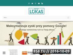 Miniaturka projektlukas.pl (Pozycjonowanie w Google)