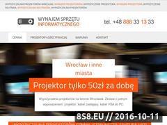 Miniaturka Wypożyczalnia projektorów (projektorwroclaw.pl)