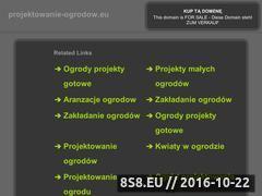 Miniaturka domeny www.projektowanie-ogrodow.eu