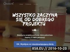 Miniaturka domeny projektowaniegraficzne.pl