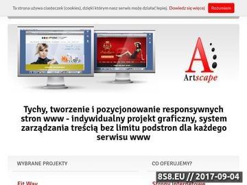 Zrzut strony Strony internetowe Tychy