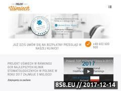 Miniaturka projektusmiech.pl (Stomatolog Gdańsk)