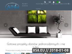 Miniaturka projekty-domow.all4u.pl (Sprzedaż gotowych projektów domów)