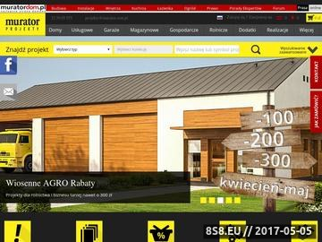 Zrzut strony Projekty domów z kolekcji Muratora