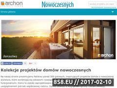 Miniaturka domeny www.projektydomownowoczesnych.pl
