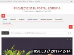 Miniaturka promedycyna.pl (Poradnik o zdrowiu)