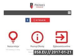 Miniaturka domeny promes-finanse.pl
