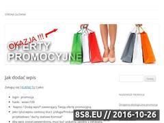 Miniaturka domeny promocjawsieci.eu