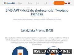 Miniaturka promosms.com (Usługi mobile marketingu i masowej wysyłki SMS)