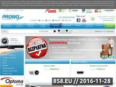 Miniaturka domeny www.prono.com.pl