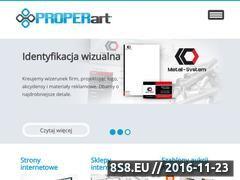 Miniaturka domeny properart.pl