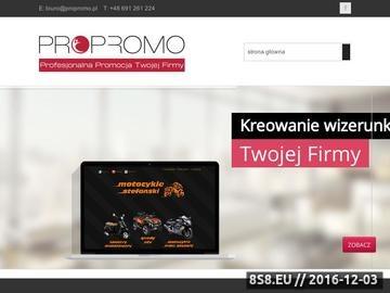 Zrzut strony Usługi związane z promocją firm