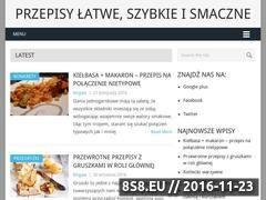 Miniaturka domeny proste-szybkie-przepisy.pl